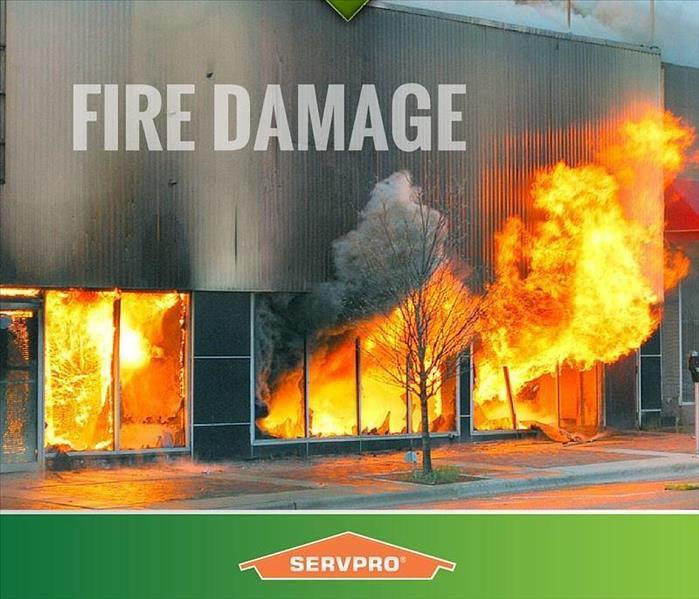 Commercial Fire Damage At Your Commercial Property? We Can Help
