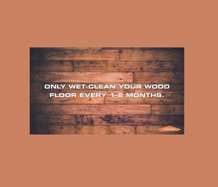 Cleaning Today's Tip: Keeping Your Wood Floors Looking Nice Longer