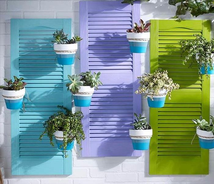 General Build Shutter Planters And Add A Colorful Accent To Your Patio