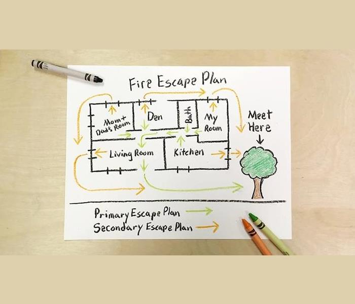 General Today's Tip: Create A Family Escape Plan