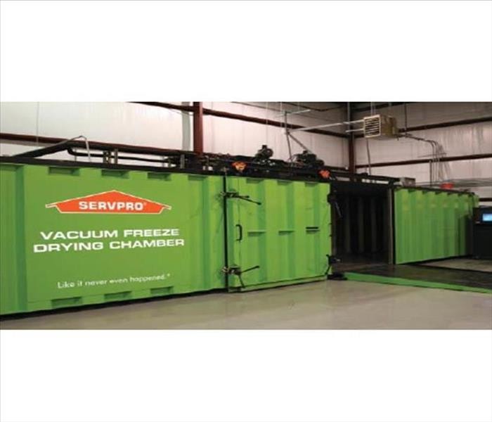 Water Damage SERVPRO's Document Restoration Services After A Water Damage